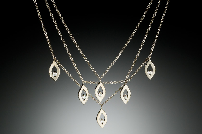 Jeannie Hwang Falling Petals Necklace